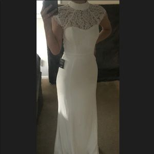 Brand new, never worn white dress.